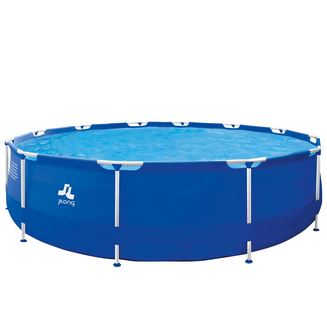 Jilong runder XXL Family Pool Ø 420 x 84 cm Stahlrahmen Schwimmbad Garten  Schwimmbad Familienpool Wassersport & Pools Pools & Spas Maxi-Pools