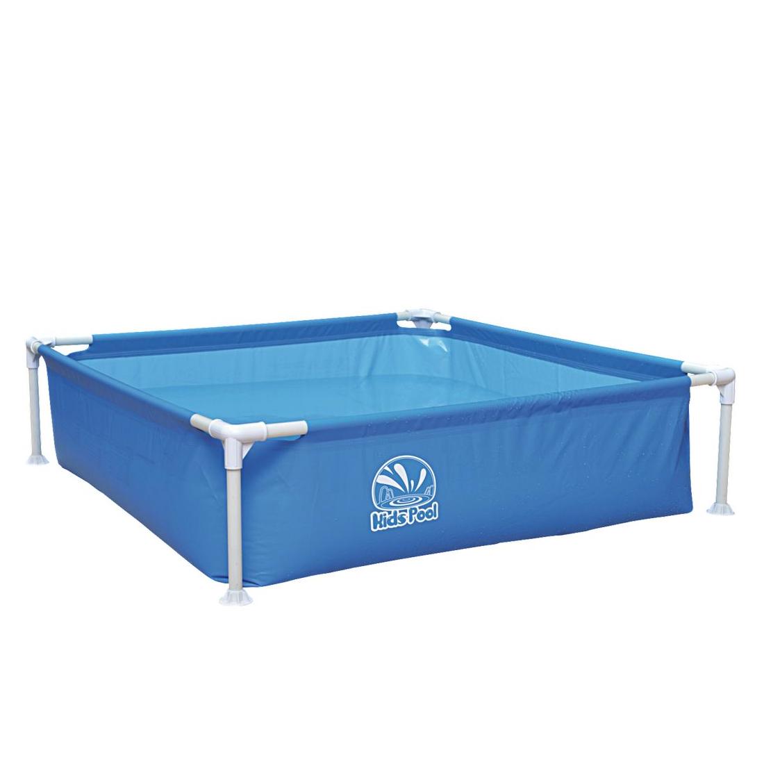 Buy Jilong Kids Pool Blue 122x122 Steel Frame Paddling