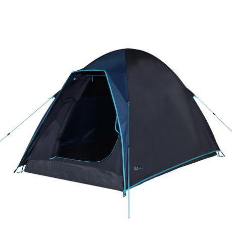 ba17c63572730c Tent This high-quality and modern dome tent with its sleeping cabin offers  space for