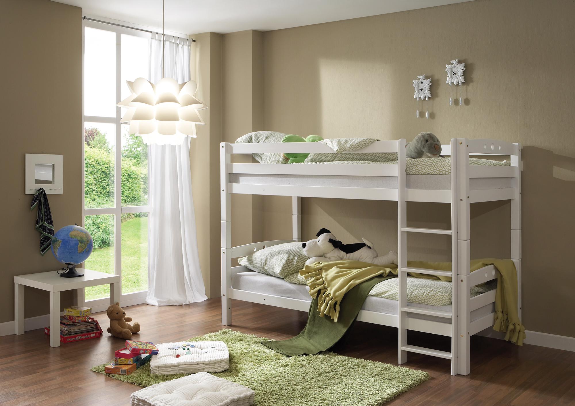Etagenbett Weiss Buche Massiv : Bettkasten für etagenbett lukas buche vollholz massiv weiß
