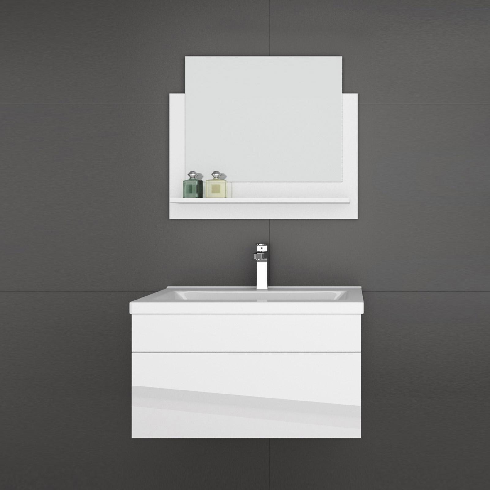 3 Teiliges Waschplatz Badmobel Set Hochglanz Weiss Kindermobel Und Vieles Mehr Aileenstore De