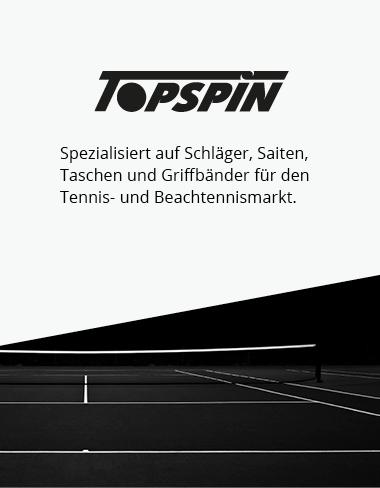 Topspin - Die Marke für Tennisschläger, Tennissaiten und Griffbänder