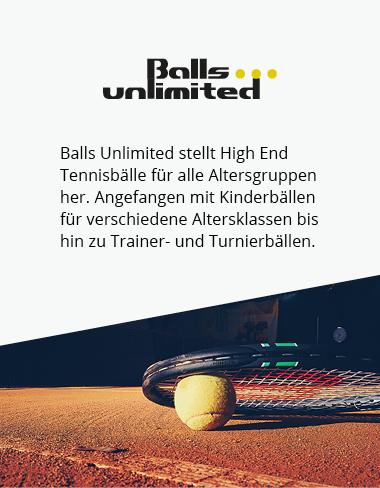 Balls Unlimited - Testsieger Tennisbälle zum Bestpreis