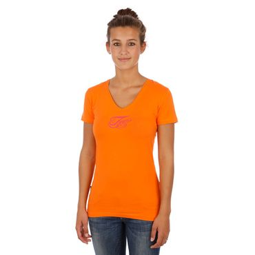 Juice Stretch Shirt - Orange - Mädchen – Bild 1