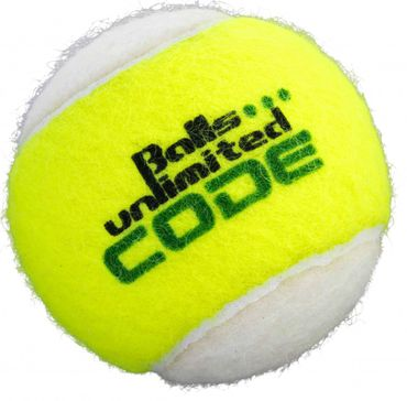 Balls Unlimited Code Green 60-Balls Bag Yellow-White