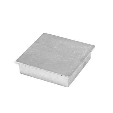 Abdeckkappe für Bodenhülse 80x80 mm