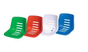 Sitzschale Royal grün, rot oder weiß