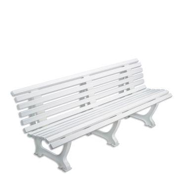 Bank Sindelfingen 200 cm weiß, Gewicht: 24 kg