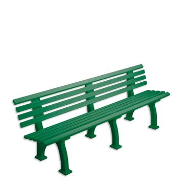 Bench Berlin Green