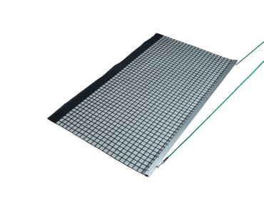 Aluminum Drag Net, Single PVC 200x115cm