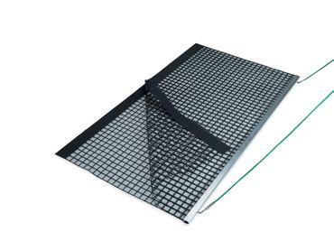 Aluminum Drag Net, Double PVC 200x115 cm