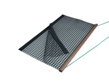 Wooden Drag Net, Double PVC, 200x115 cm