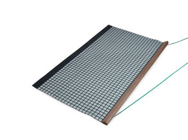 Wooden Drag Net, Single PVC, 200x115 cm