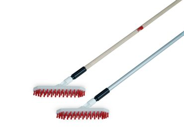 Brush Nuovo, plastic broom with aluminum handle