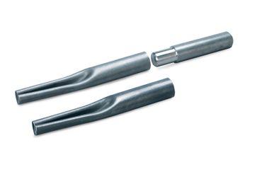 Einschlageisen für Verankerungsrohr aus Stahl