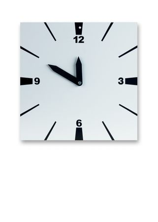 Tennis Court Allocation Clock 40 x 40 cm