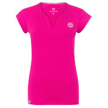 Bella Tech V-Neck Tee - pink (NOOS) – Bild 1