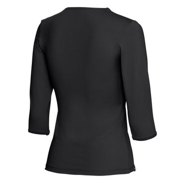 Cyra Tech V-Neck Longsleeve - black (NOOS) – Bild 2