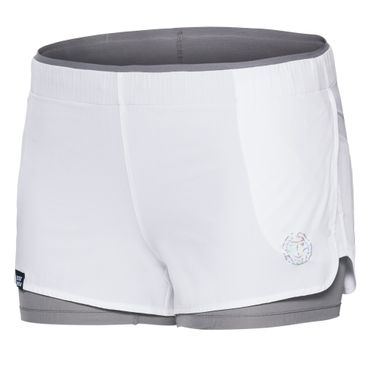 Nica Tech 2 in 1 Shorts - white/grey (NOOS) – Bild 1
