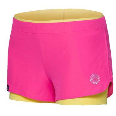 Nica Tech 2 in 1 Shorts - pink/yellow/metalic – Bild 1