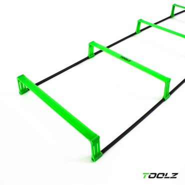 TOOLZ - Agility Ladder With Hurdles Ladder 2m – Bild 1
