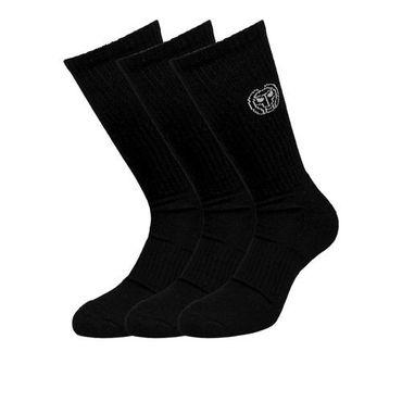 Magu Crew Tech Sock 3 Packs - black – Bild 1