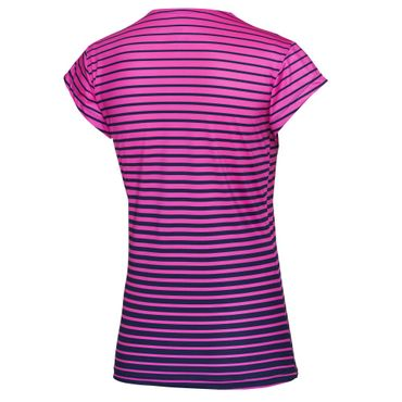 Bella Tech V-Neck Tee - pink/darkblue (FA17) – Bild 2