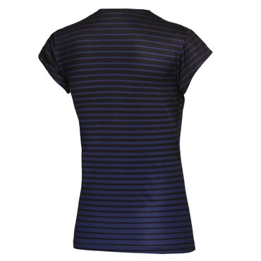 Bella Tech V-Neck Tee - black/darkblue (HW17) – Bild 2