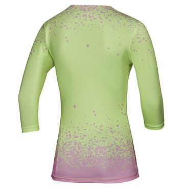 Cyra Tech V-Neck Longsleeve - light green/light pink (HW17) – Bild 2