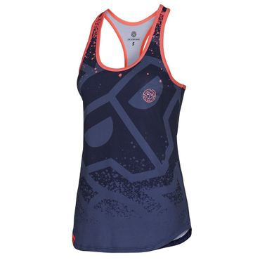 Pallas Basic Tank - darkblue/blue (HW17) – Bild 1