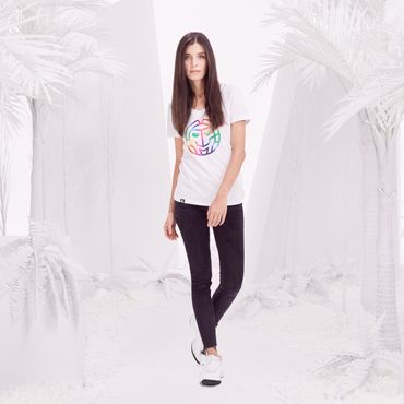 Noara Basic Logo Tee - white (SP18) – Bild 3