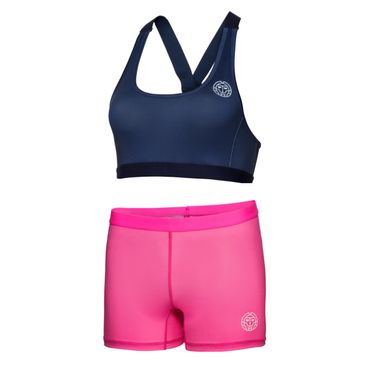 Neyla Tech Dress (3 in 1) - darkblue/pink (SP18) – Bild 3