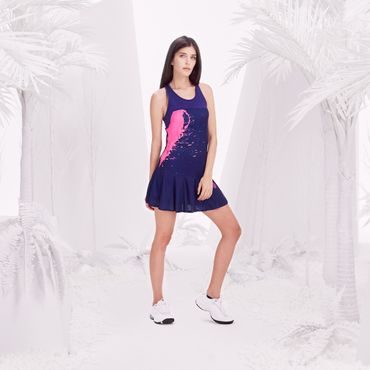 Afia Tech Dress (3 in 1) - darkblue/pink (SP18) – Bild 5
