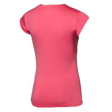 Bella Tech V-Neck Tee - coral/darkblue (FS18) – Bild 2