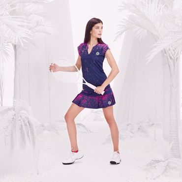 Liza Tech Skort - darkblue/pink (SP18) – Bild 3