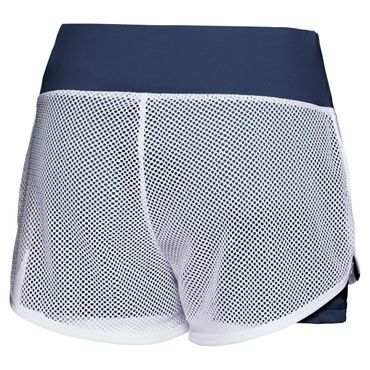 Efia Tech 2in1 Shorts - white/darkblue (SP18) – Bild 2