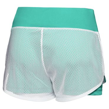 Efia Tech 2in1 Shorts - white/green (SP18) – Bild 2