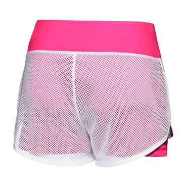 Efia Tech 2in1 Shorts - white/pink (FS18) – Bild 2