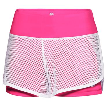 Efia Tech 2in1 Shorts - white/pink (SP18) – Bild 1