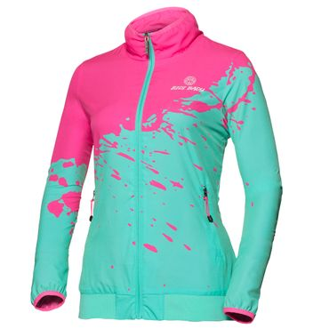 Liza Tech Jacket - pink/green (FS18) – Bild 1