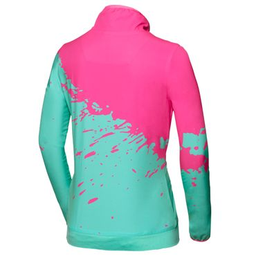 Liza Tech Jacket - pink/green (SP18) – Bild 2