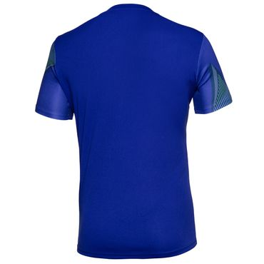 Niro Tech V-Neck Tee - blue/icegreen/neonorange (SP18) – Bild 2