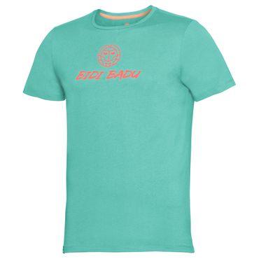 Taro Basic Logo Tee - icegreen/neonorange (SP18) – Bild 1