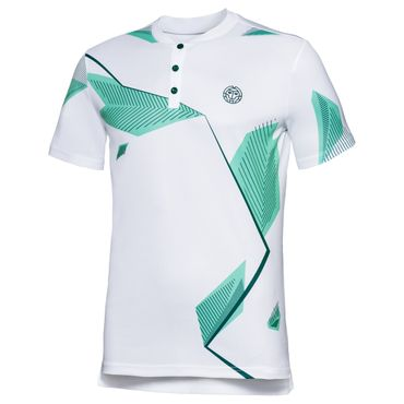 Ixion Tech Polo - white/icegreen/black (FS18) – Bild 1