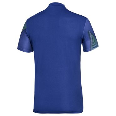 Ixion Tech Polo - blue/green/neonorange (SP18) – Bild 2