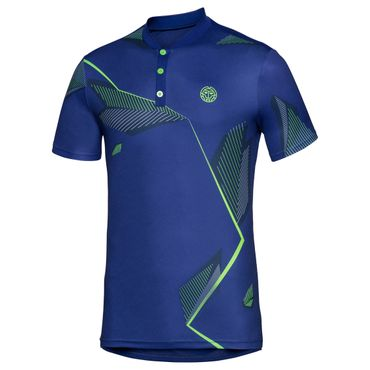 Ixion Tech Polo - blue/green/neonorange (SP18) – Bild 1