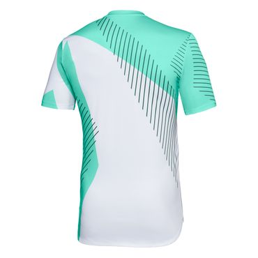 Eris Tech Round-Neck Tee - white/green/black (FS18) – Bild 2