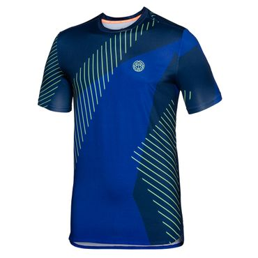 Eris Tech Round-Neck Tee - blue/icegreen/neonorange (FS18) – Bild 1