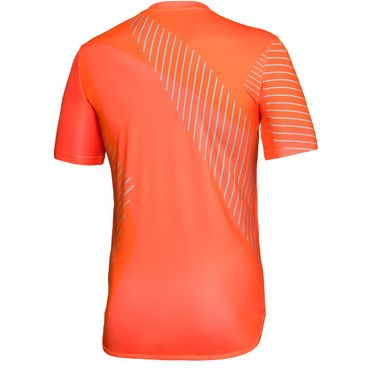 Eris Tech Round-Neck Tee - neonorange/icegreen (FS18)