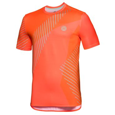 Eris Tech Round-Neck Tee - neonorange/icegreen (SP18) – Bild 1